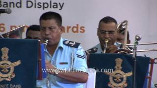 Indian Air Force Band performs at the Kargil Diwas in Delhi