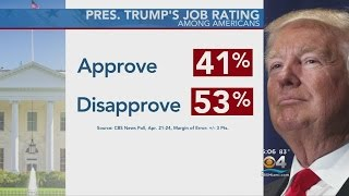 CBS News Poll Shows Trump's Approval At New Low