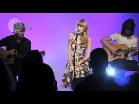 Taylor Swift RED Live Acoustic