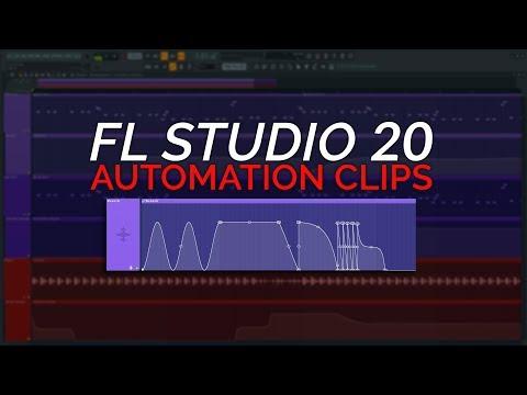 How To Use Automation Clips - FL Studio 20 Essentials
