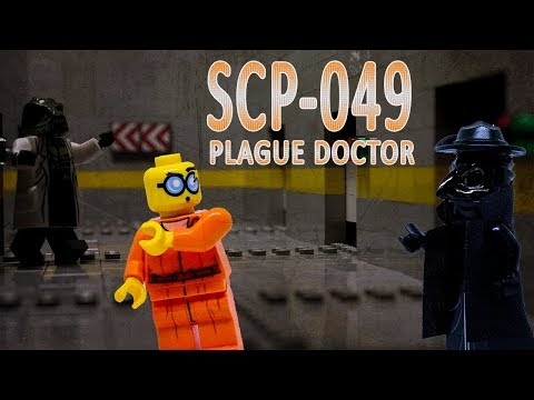LEGO SCP 049: Plague Doctor horror stop motion