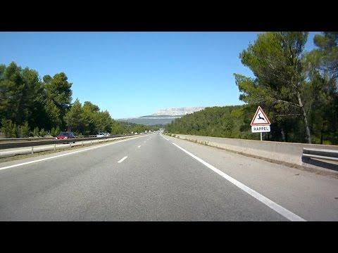 France: A52 Aubagne - Aix-en-Provence