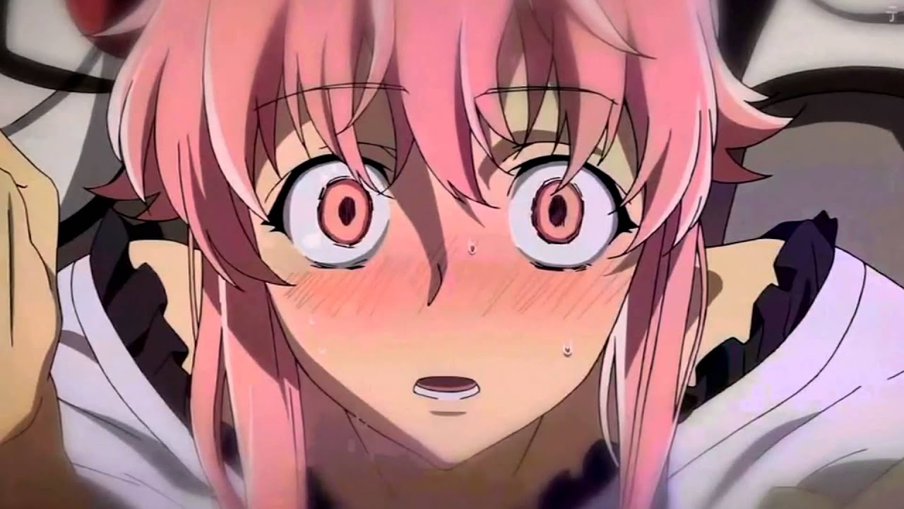 Wallpaper Girl Pic Blow Me One Last Kiss Mirai Nikki Youtube