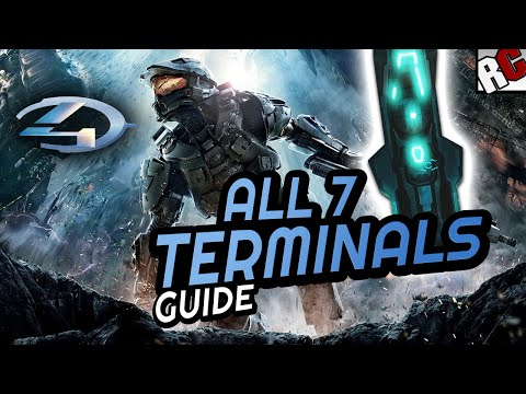 All TERMINAL Locations - Halo 4: Masterchief collection - Terminus Achievement Guide
