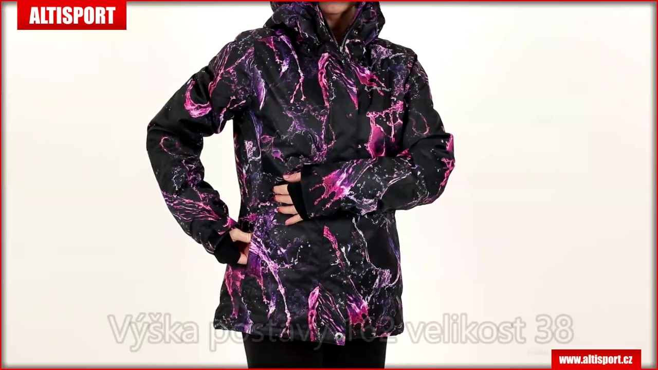 dámská zimní bunda alpine pro abbota černá
