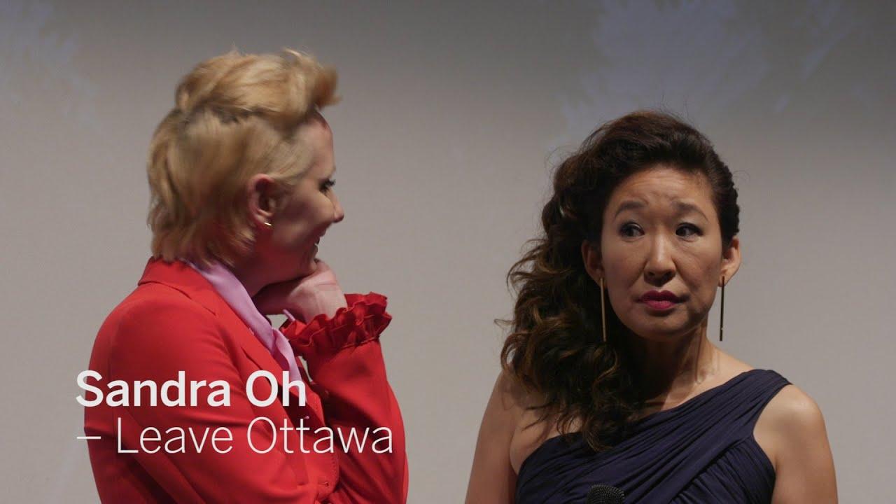Sandra Leave Ottawa Tiff 2016