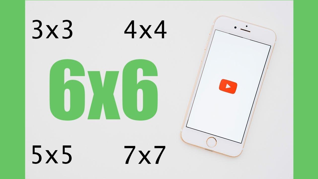 6*6 Magic Square | Magic Cube