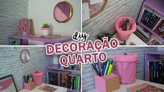 DIY – Ideias FÁCEIS e BARATAS de decoração para o QUARTO
