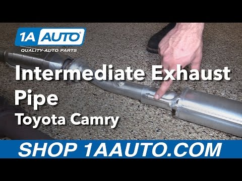 How to Replace Intermediate Exhaust Pipe 97-01 Toyota Camry