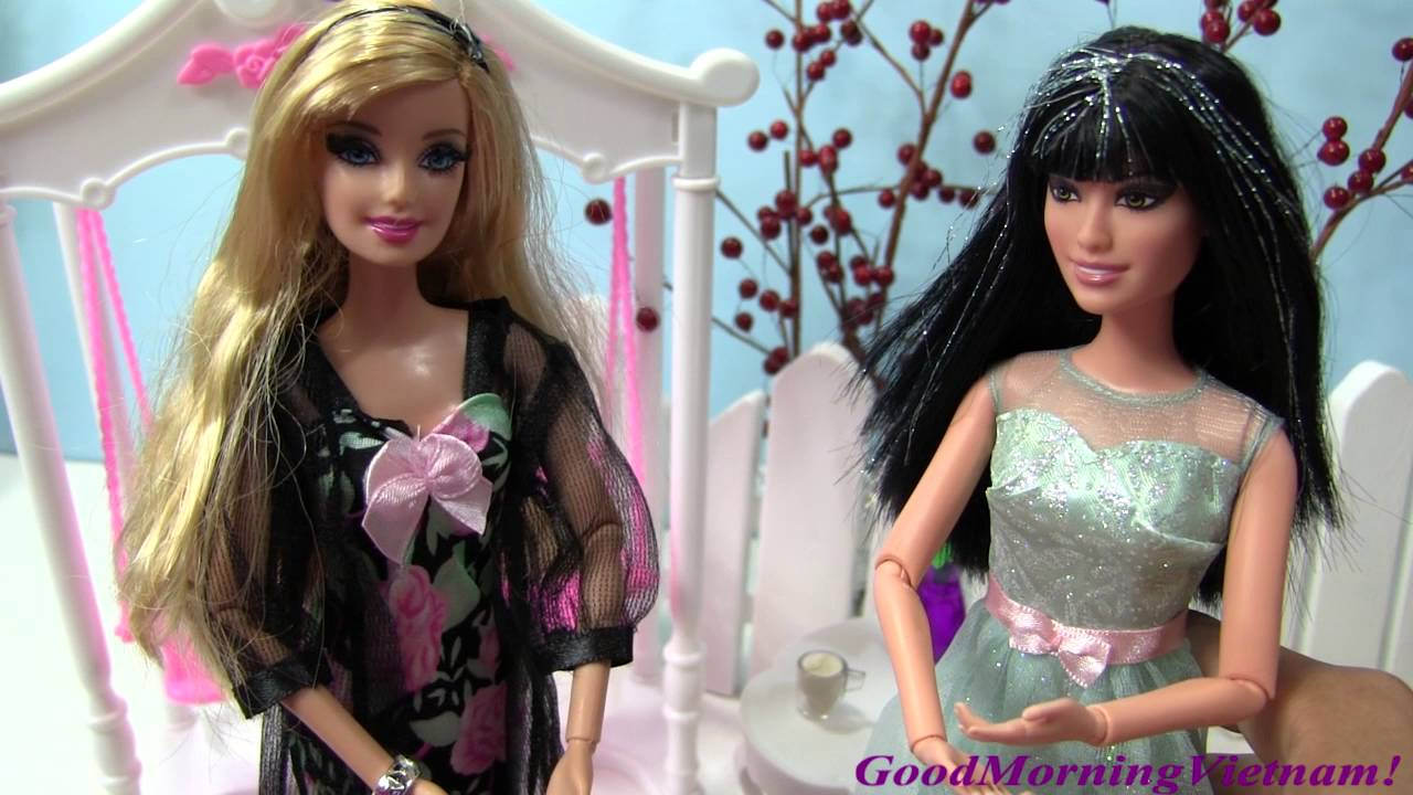 😉💕 Cuộc Sống Barbie & Ken ( Tập 15) Raquelle Từ Được Tặng Quà Barbie / Barbie Ken Life Chelsea