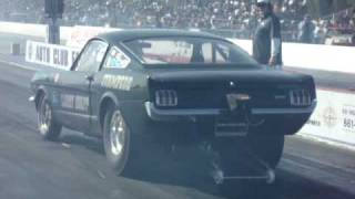 Larry Knapps A/FX Stampede Mustang 427 SOHC featuring Earl Wade