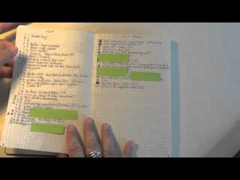 Video #131 Moleskine Bullet Journal