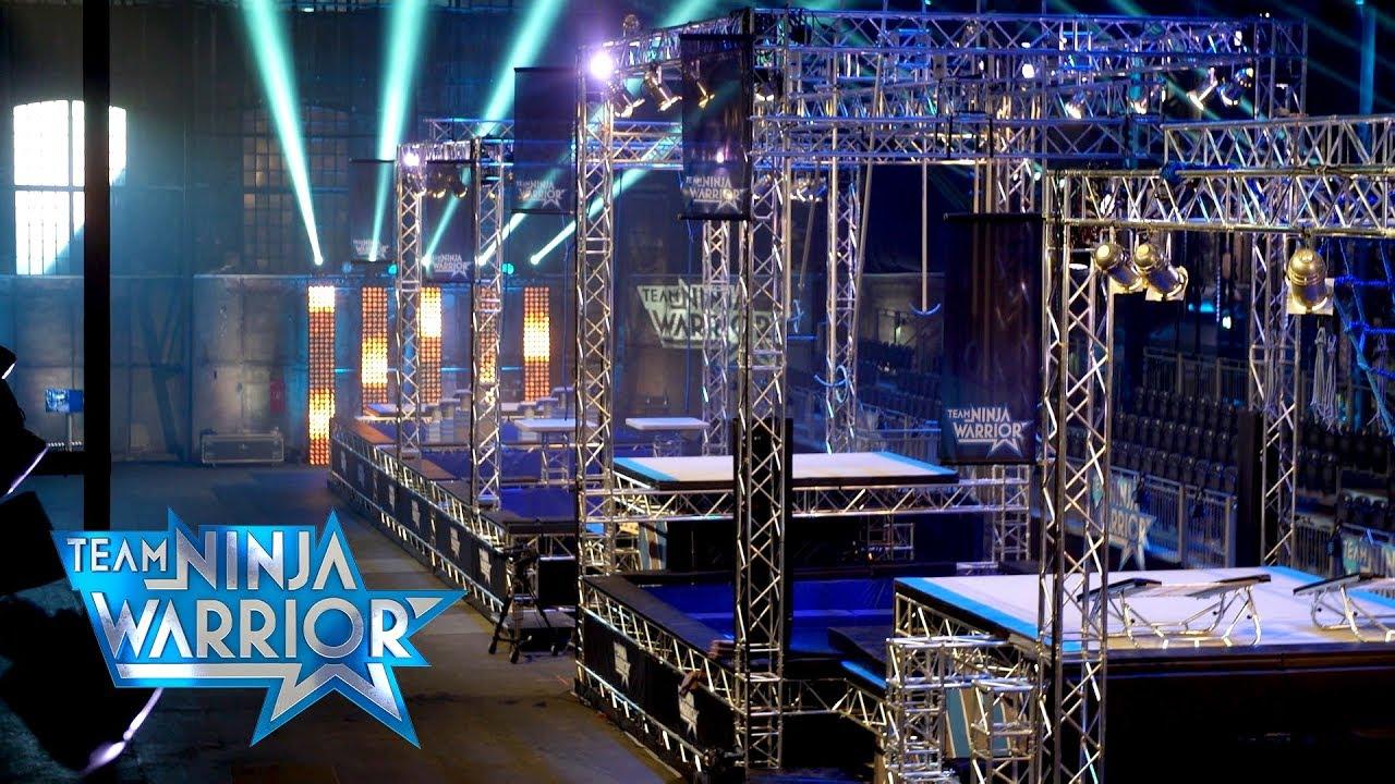 Team Ninja Warrior - Backstage | Vorstellung des ersten Parcours