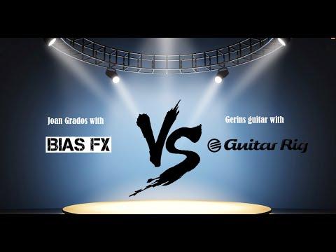 Bias FX vs Guitar Rig 5 (all styles test)