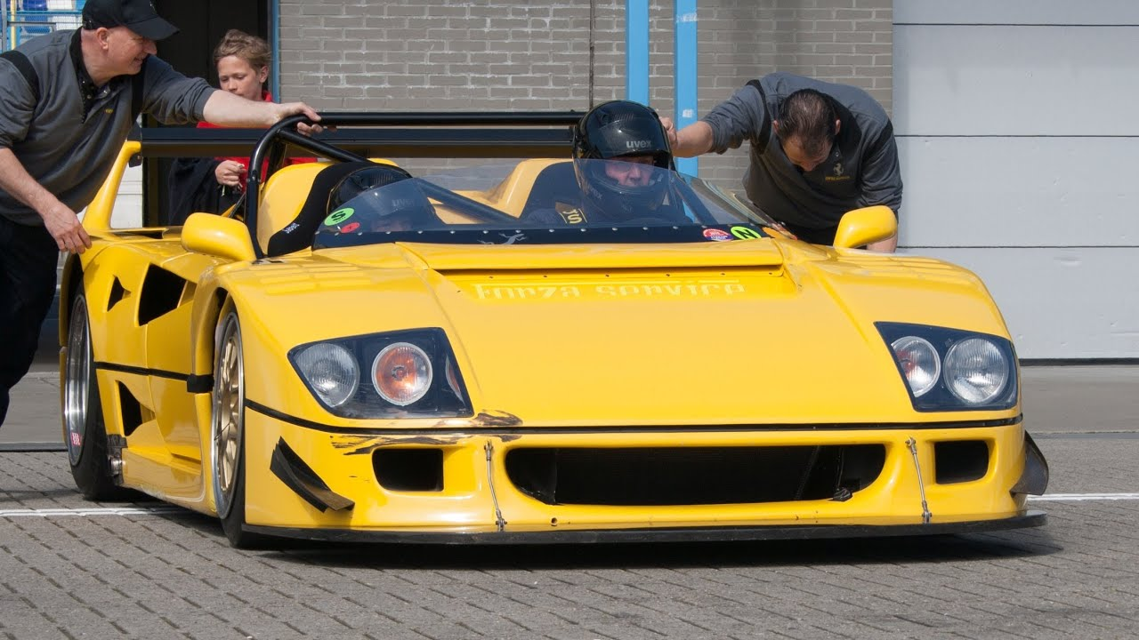 760 Hp Ferrari F40 Lm Barchetta Beurlys Epic Flybys On