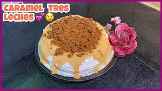 Caramel Tres Leches Cake - Delicious