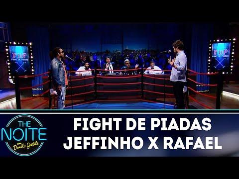 Fight de Piadas Jeffinho x Rafael Marinho   The Noite (16/05/18)