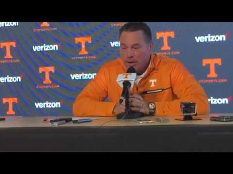Butch Jones confirms Evan Berry is out for the season