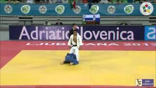 Judo 2013 World Championships Junior Ljubljana: Shomurodov (UZB) - Esposito (ITA) [-73kg] final
