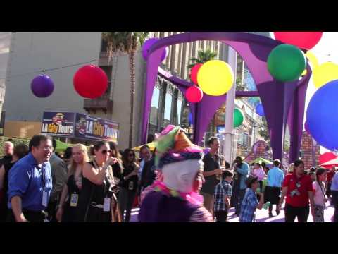 Exclusive Inside Out Premier Party in Hollywood