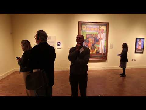 Diego Rivera/Frida Kahlo exhibition at the Detroit Institute of Arts