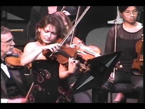 Irina Muresanu plays Prokofiev Violin Concerto No. 2, Op. 63: III. Allegro ben marcato