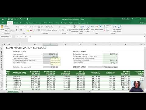 How to Build a Loan Amortization Schedule for Construction Companies and Contractors