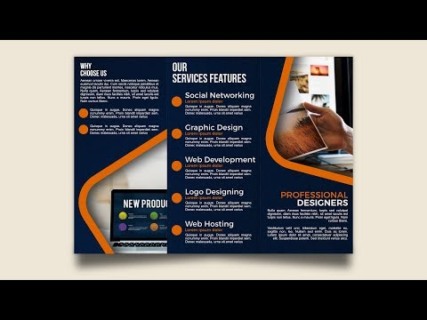 New TriFold Brochure Design Affinity Publisher Tutorial thumbnail