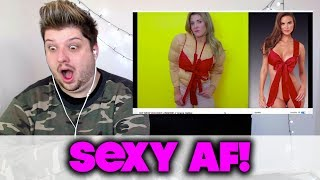 DIY SEXY HOLIDAY LINGERIE // Grace Helbig | REACTION!