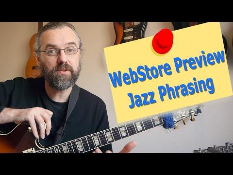 WebStore Preview - Jazz & Bebop Phrasing - C Blues
