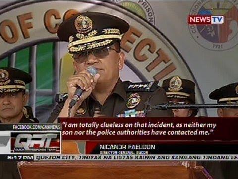 BuCor chief Faeldon, naghain ng leave of absence matapos maaresto ang kanyang anak sa drug raid