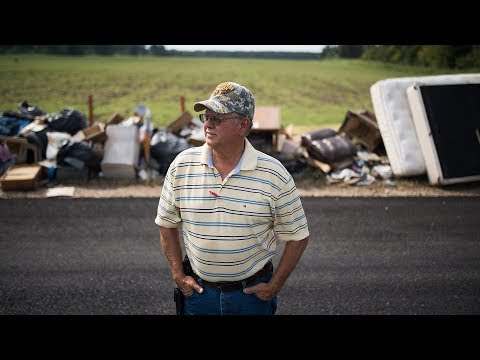 Legion Family assess Hurricane Harvey damage in Wharton, Texas