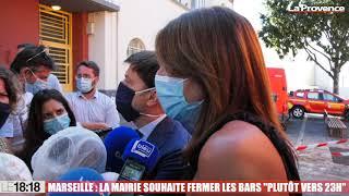 "Coronavirus - Marseille : la mairie souhaite fermer les bars ""plutôt vers 23h00"""