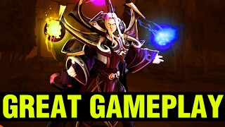 WHAT A GREAT GAMEPLAY !! - .^Vintager Invoker - Dota 2