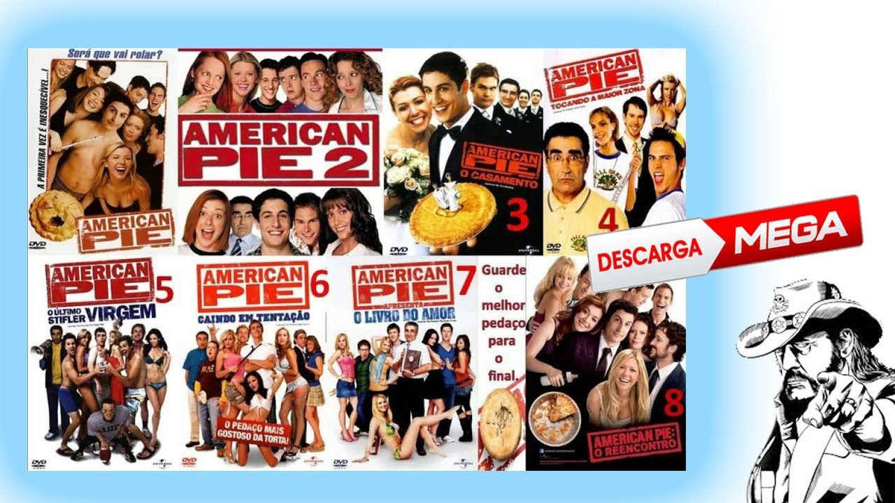 American Pie Todas Las Peliculas Audio Español Latino 1 Link Youtube
