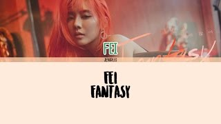 Fei - Fantasy (괜찮아 괜찮아) [Eng/Rom/Han] Picture + Color Coded Lyrics