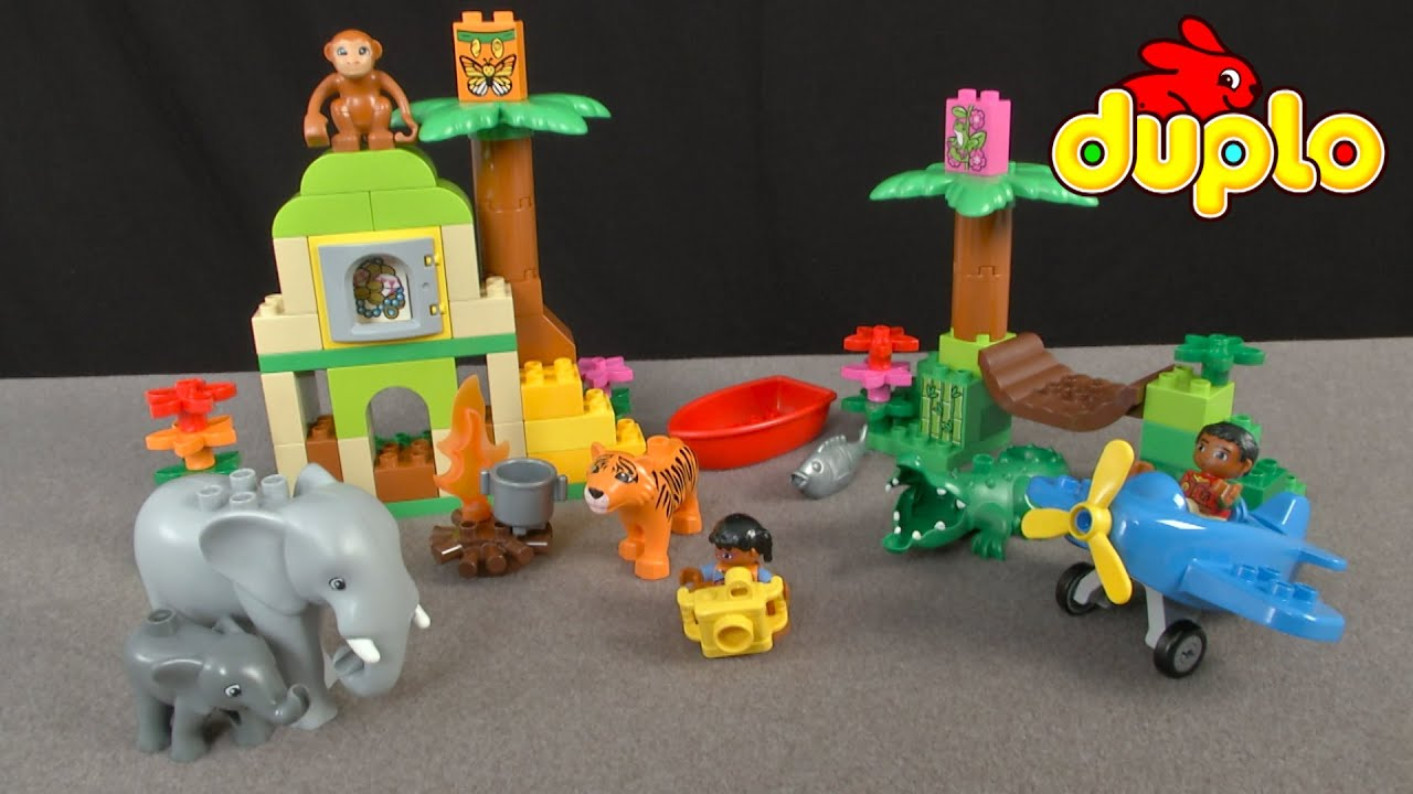 Lego Duplo Around The World Jungle From Lego Youtube