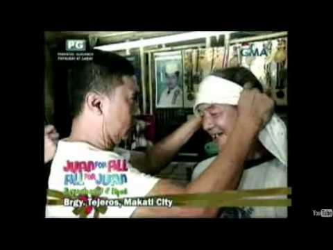 Eat Bulaga SBG Luminaw ang mga mata ang nagamot ni Jose...