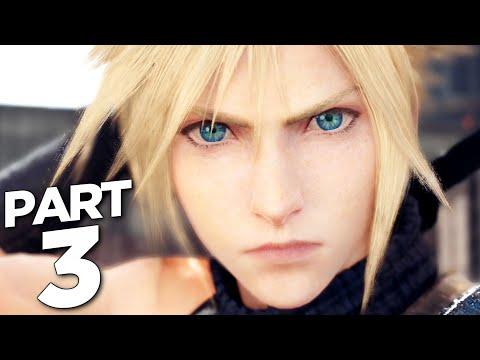 FINAL FANTASY 7 REMAKE Walkthrough Gameplay Part 3 - CLOUD STRIFE (FF7 REMAKE)