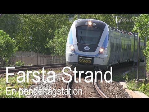 2016-05-23 Farsta Strand - En pendeltågstation
