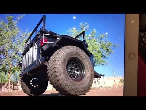 Extreme Duty Off Road Jeep Trailer for sale Phoenix AZ Craigslist