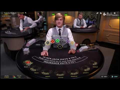 Online Black Jack Session Money King