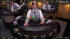 Online Black Jack Session Money King