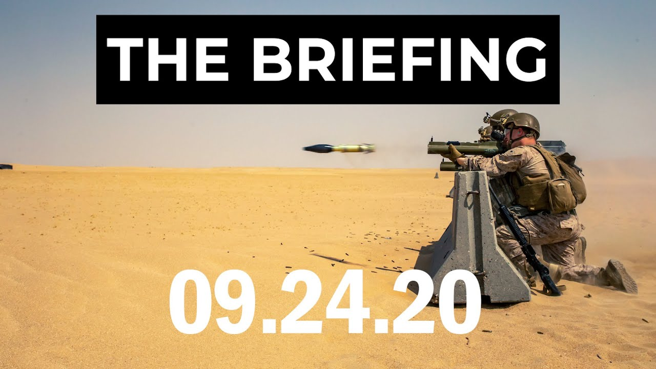 A bigger Navy, some stolen valor and the Marines recruit Gen Z - The Briefing, 9.24.20