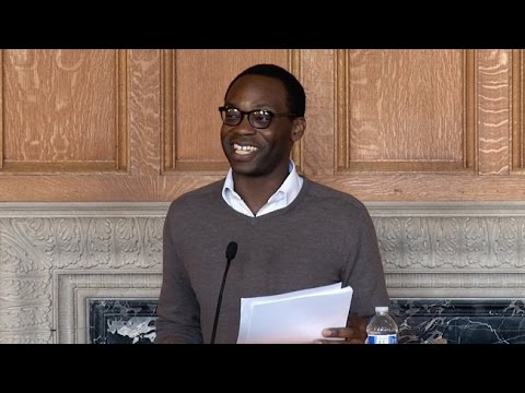 Rowan Ricardo Phillips - Lunch Poems - University of California Television (UCTV)  - _FkEZOhWo0U -