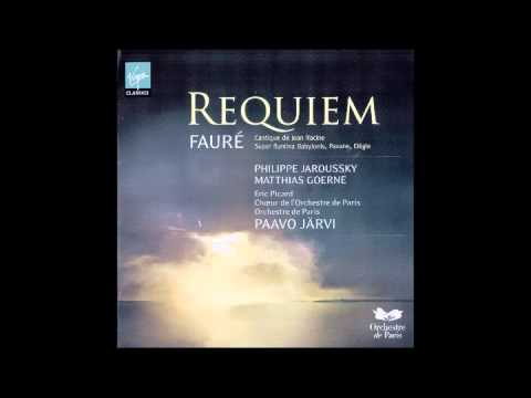 Fauré - Requiem en re menor op.48 (Järvi)