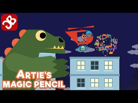 Artie's Magic Pencil for kids - iOS / Android - Gameplay Video