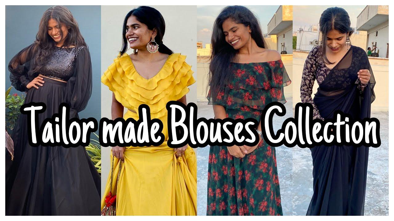Tailor made Blouses Collection   Designer Blouses Ideas   Multipurpose Designer Blouses   nayalooks