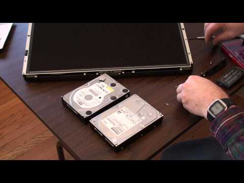 iMac Replace Hard Drive Reinstall Operating System