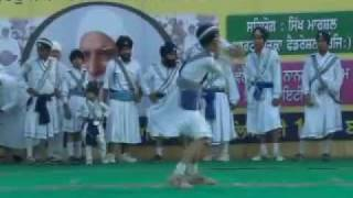 First International Gatka Competition at Gurduara Yadgar Sahib jarg 24.mp4